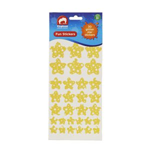 ELC Fun Stickers Glitter Stars 30 Pack