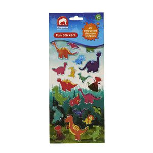 ELC Fun Stickers Embossed Dinosaurs 20 Pack