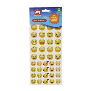 ELC Fun Stickers Paper Emoticons 40 Pack