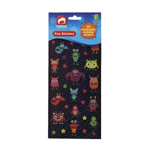 ELC Fun Stickers Holographic Monsters 30 Pack