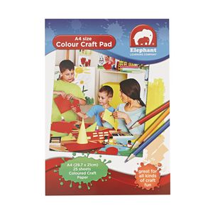 ELC A4 Colour Craft Pad 25 Sheets