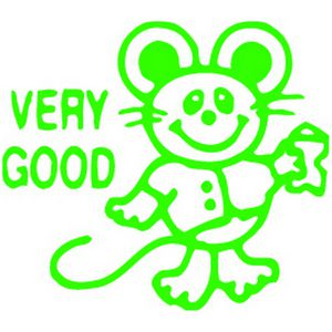 ELC Merit Stamp Very Good Mouse Green