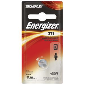 Energizer 371 Watch and Calculator Battery