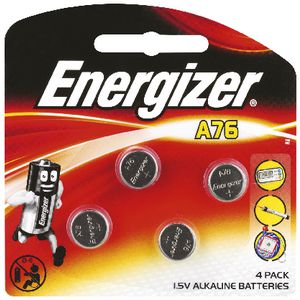 Energizer A76 Battery 4pk
