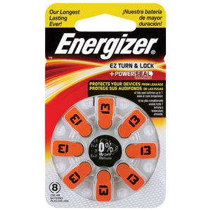 Energizer Hearing Aid 13 Batteries 8 Pack