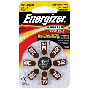 Energizer Hearing Aid 132 Battery 8 Pack