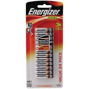 Energizer AAA Max Batteries 24 Pack