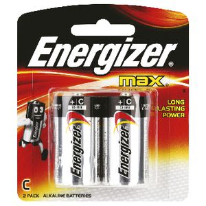 Energizer Max C Batteries 2 Pack