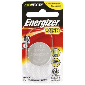 Energizer 3V 2450 Lithium Coin Battery