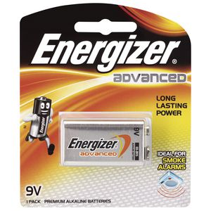 Energizer Advanced 9V Battery