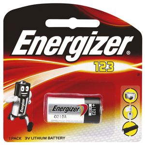 Energizer 123 Lithium Photo Battery
