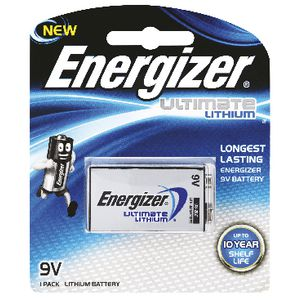 Energizer 9V Ultimate Lithium Battery