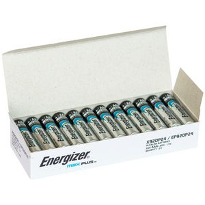 Energizer MAX Plus Advanced AAA Alkaline Batteries 24 Pack
