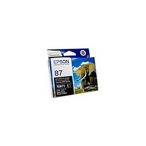 Epson 87 Ink Cartridge Black