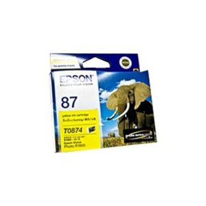 Epson 87 Ink Cartridge Yellow