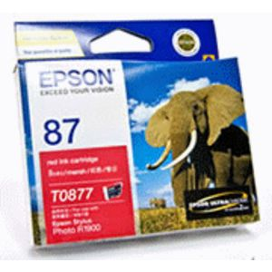 Epson 87 Ink Cartridge Red