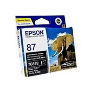 Epson 87 Ink Cartridge Matte Black