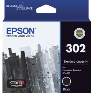 Epson 302 Premium Ink Cartridge Black