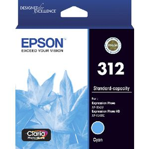 Epson 312 Photo HD Ink Cartridge Cyan