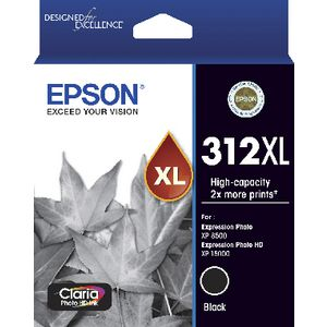 Epson 312XL Photo HD Ink Cartridge Black