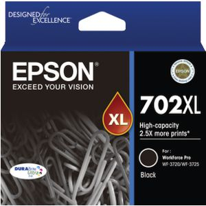 Epson 702XL Ink Cartridge Black
