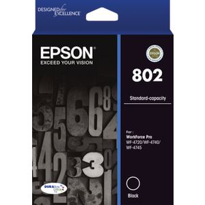 Epson 802 Ink Cartridge Black