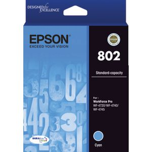 Epson 802 Ink Cartridge Cyan