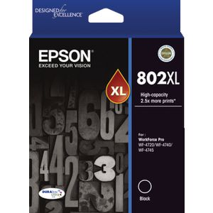 Epson 802XL Ink Cartridge Black