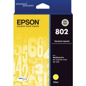 Epson 802 Ink Cartridge Yellow