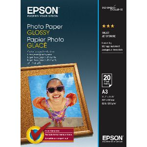 Epson A3 Glossy Photo Paper 20 Pack