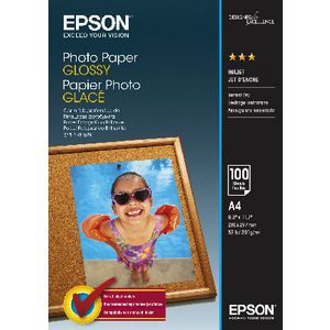 Epson 200gsm A4 Glossy Photo Paper 20 Sheet Pack