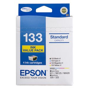 Epson 133 Ink Cartridges Value Pack