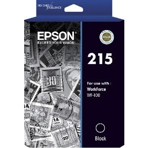 Epson 215 Ink Cartridge Black