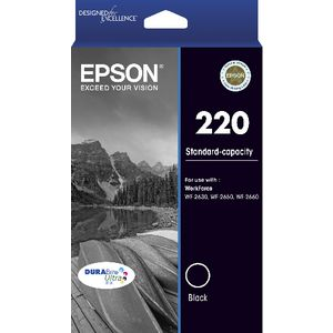 Epson 220 Ink Cartridge Black