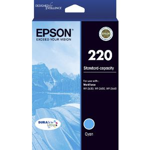 Epson 220 Ink Cartridge Cyan