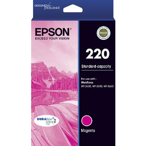 Epson 220 Ink Cartridge Magenta