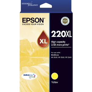 Epson 220XL Ink Yellow