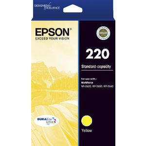 Epson 220 Ink Cartridge Yellow