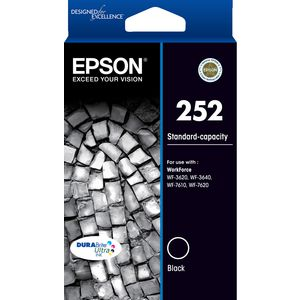 Epson 252 Ink Cartridge Black
