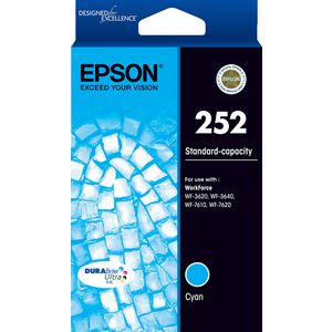 Epson 252 Ink Cartridge Cyan