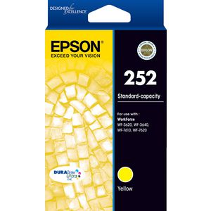 Epson 252 Ink Cartridge Yellow