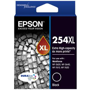 Epson 254XL High Capacity Ink Cartridge Black