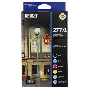 Epson 277XL 6 Ink Cartridge Value Pack