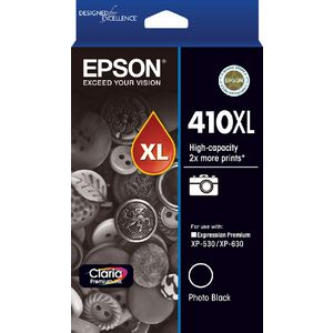 Epson 410XL Ink Cartridge Photo Black