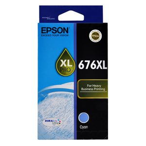 Epson 676XL Ink Cartridge Cyan