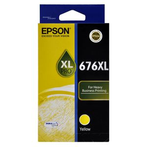 Epson 676XL Ink Cartridge Yellow
