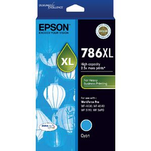 Epson DURABrite Ultra 786XL Ink Cartridge Cyan