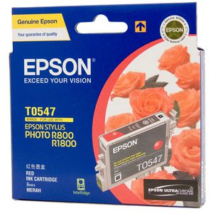 Epson Ink Cartridge Red T0547