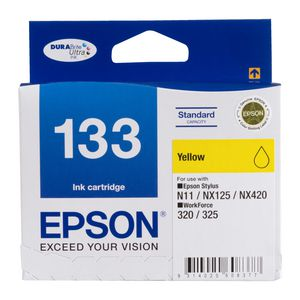 Epson T133 Standard Ink Cartridge Yellow
