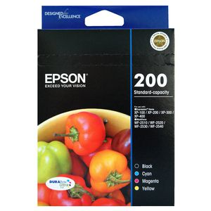 Epson 200 Ink Cartridge Value Pack